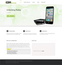 طراحی سایت جی اس ام آنلاک