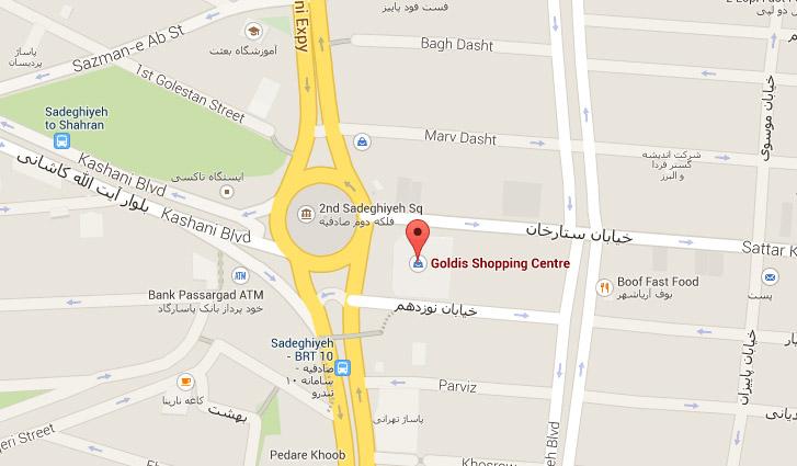 توس وب در تهران