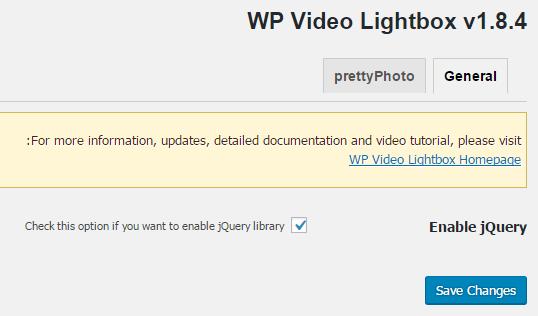 افزونه WP Video Lightbox
