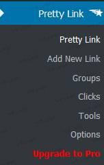 افزونه Pretty Link Lite