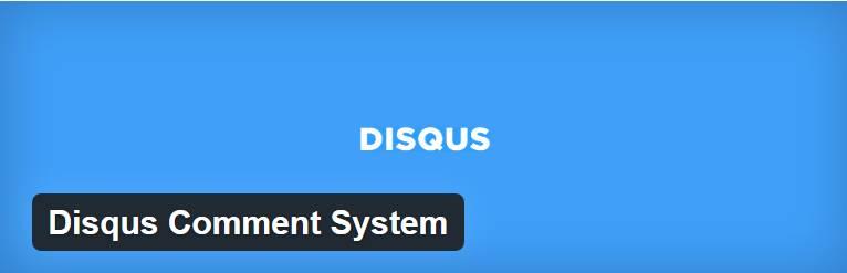 افزونه Disqus Comment System