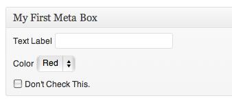 ایجاد meta box
