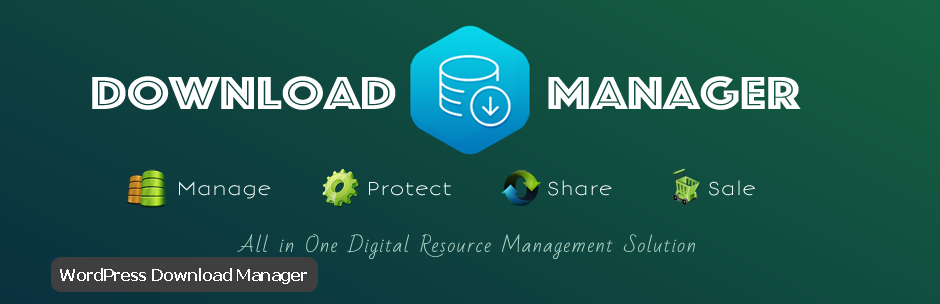 افزونه WordPress Download Manager