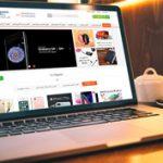 طراحی سایت فروشگاه اینترنتی موبایل سناتور