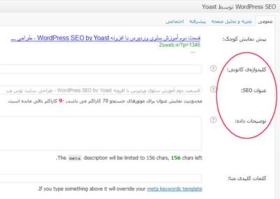 آموزش سئو وردپرس با افزونه WordPress SEO by Yoast